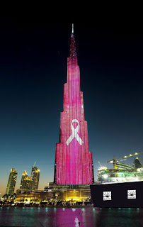 Why World's Tallest Structure turned PINK? | Andhra News Daily