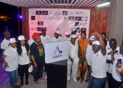 Music Legends Light Up AMBON Unveiling