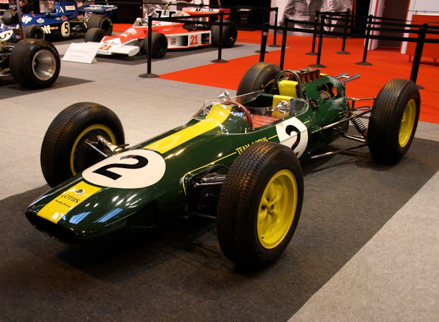 Lotus 25 1960s British F1 car