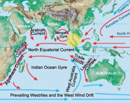 NephiCode: The Barrier of the Humboldt Current  Peru Prevailing Winds