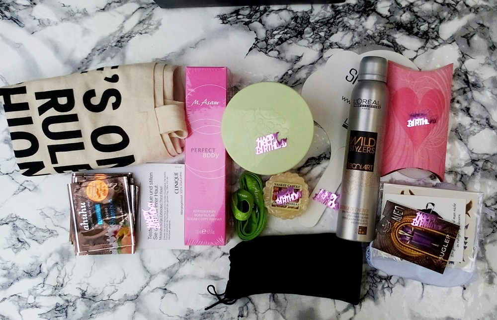 Blog Birthday Give Away - win a Birthday Goodie Bag, posted by Annie K, Fashion and Lifestyle Blogger, Founder, CEO and writer of ANNIES BEAUTY HOUSE - a german fashion and beauty blog
