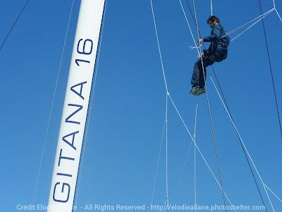 Gitana 16 prendra le départ de The Transat lundi.