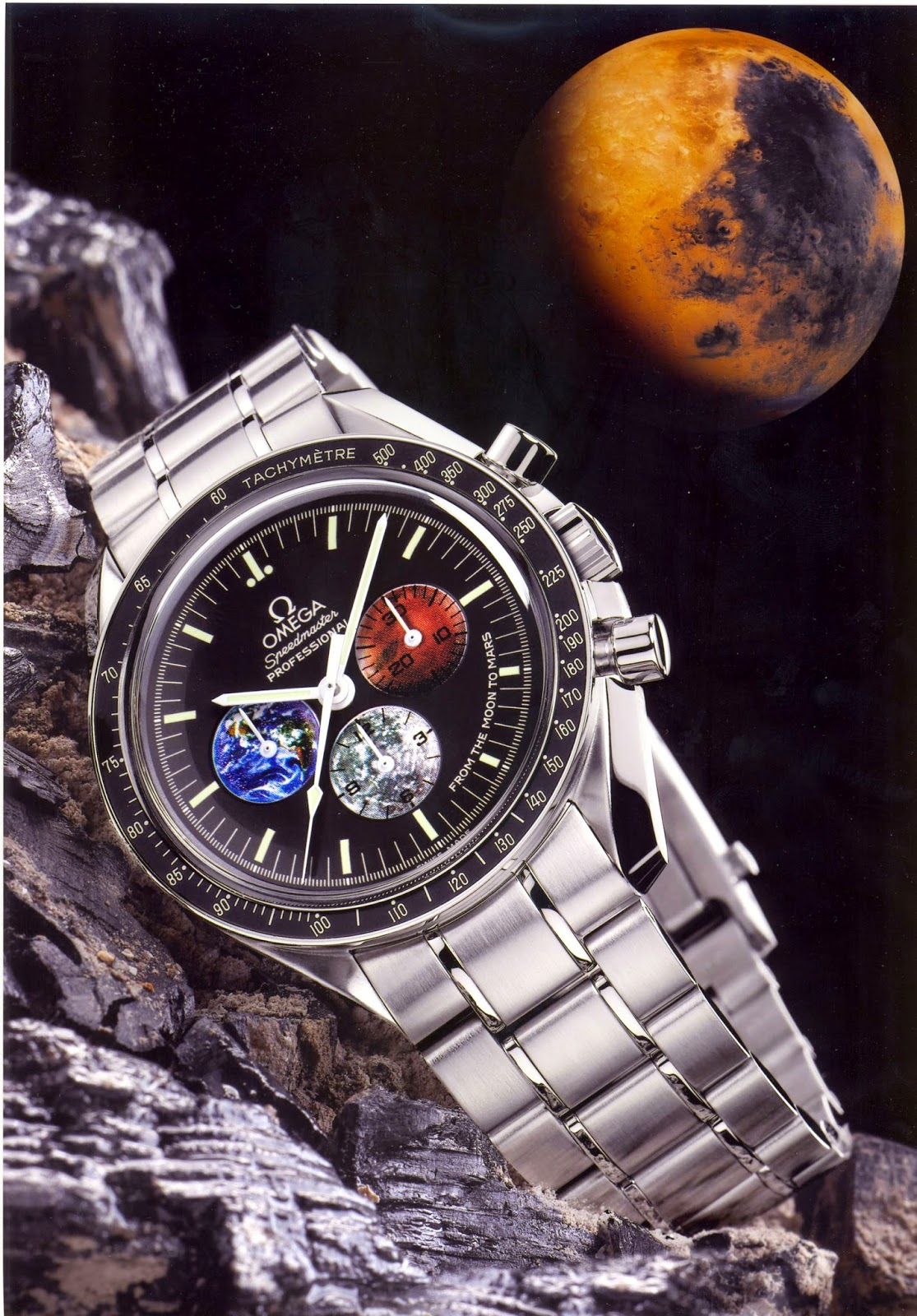 """OMEGA Speedmaster Professional Special Edition """"From the Moon to the Mars"""""""