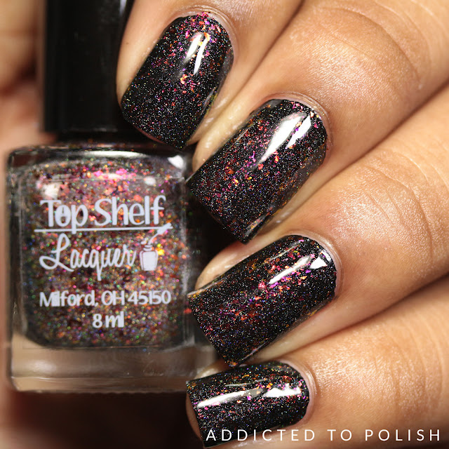 Top Shelf Lacquer Candy Cane Martini