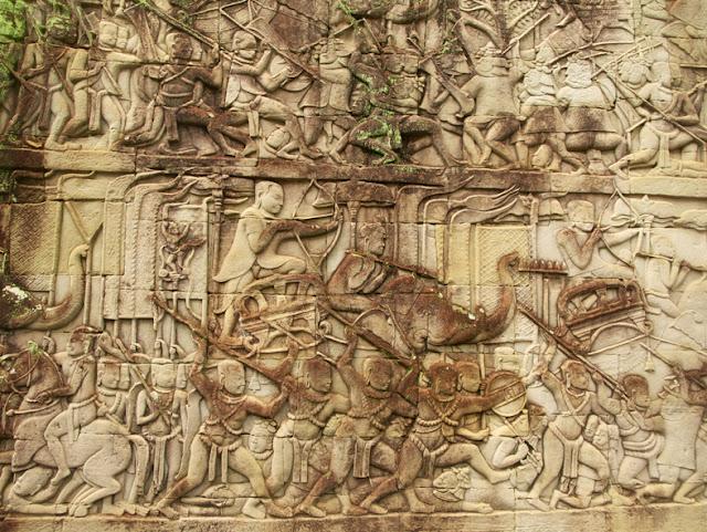 Relieve-Bayon-Angkor-Batalla-Tonle-Sap