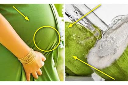 EFEKNYA DAHSYAT BANGET !!Banyak Ibu Hamil Minum Air Kelapa Hijau Karena Manfaat Ini!