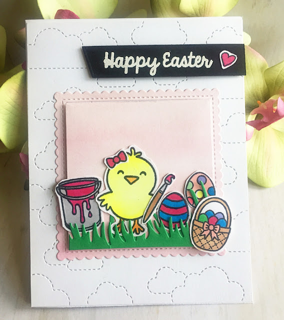 Sunny Studio Stamps: A Good Egg Customer Card Share by Mayra M