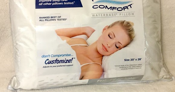 Stacy Tilton Reviews Mediflow Floating Comfort Pillow Giveaway Ends 11 7