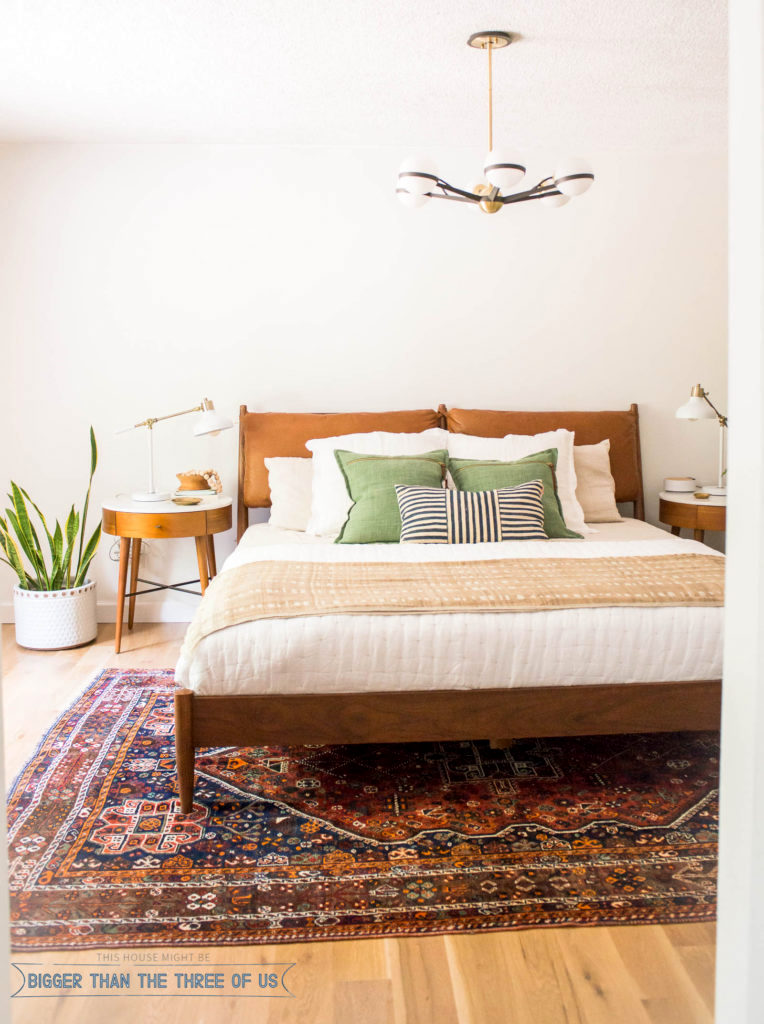 The making of a master bedroom and how your space can - Mid century modern master bedroom ...