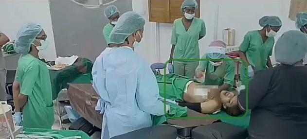 tonto dikeh surgery room
