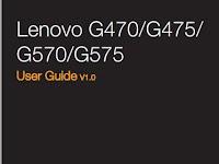 Lenovo IdeaPad G570 Manual