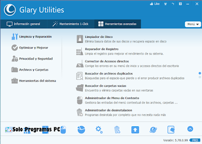Descargar glary utilities pro gratis español