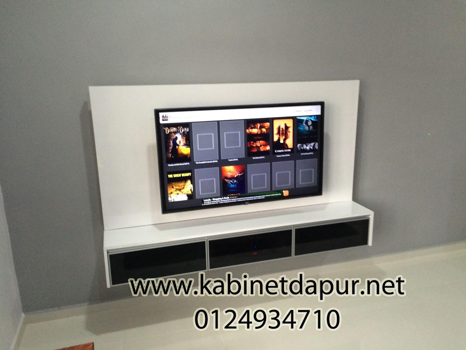 Ini Projek Kabinet Tv Kami Pada Sebelum Raya Aidil Adha Material Formika Rekaan Yg Simple Dan Cantik