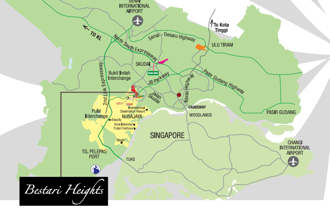 Bestari Heights Location UrPropertySG