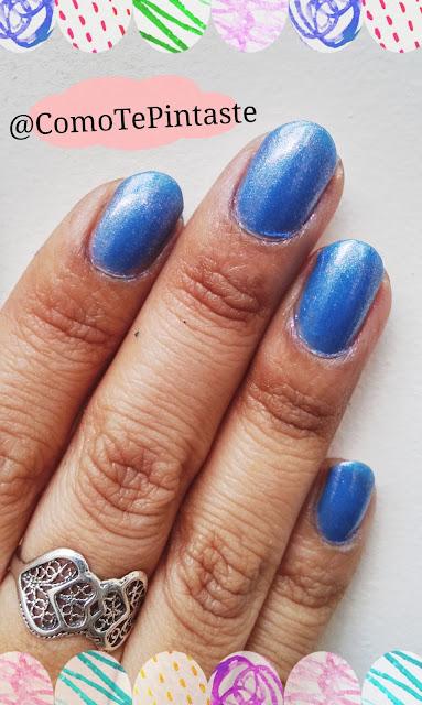 swatch esmalte artista polish azul
