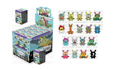Kaiju Dunny Battle Series by Kidrobot x Clutter featuring Jeff Lamm, Rampage Toys & More