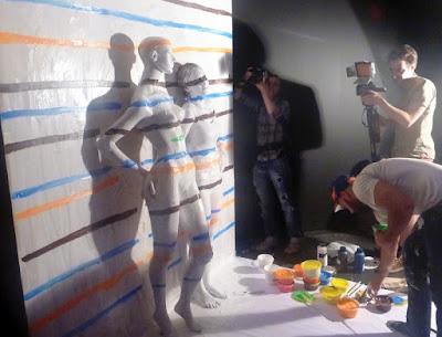 Flesh and Acrylic Art by Ben Heine - Плоть и акрил Бен Хайне - Abstract Art - Russia