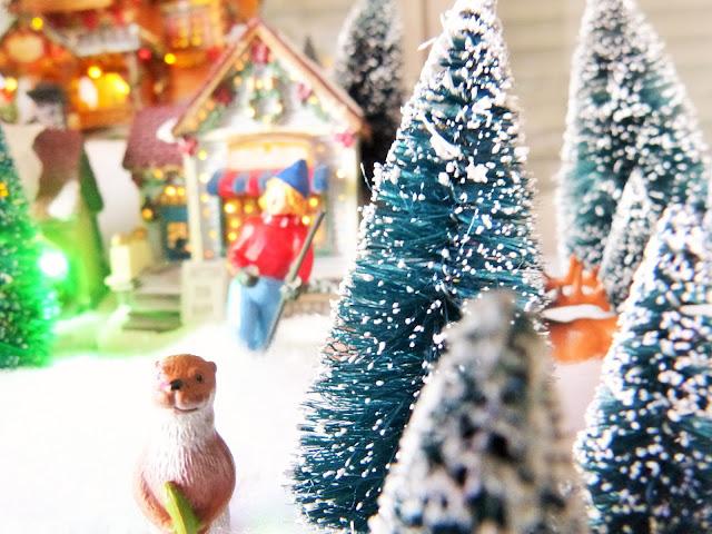 Village de Père Noël Luville Le Max Village de Noël, Père Noël, dérocation de Noël, rêve