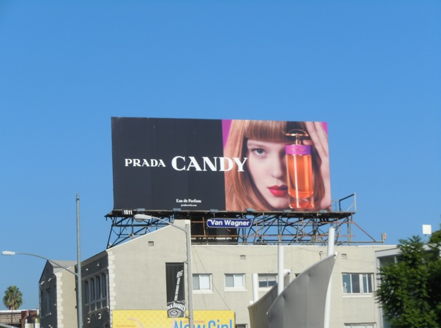 Prada Candy billboard