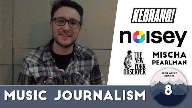 Kerrang & Noisey writer Mischa Pearlman (Sunny Stuart Winter)