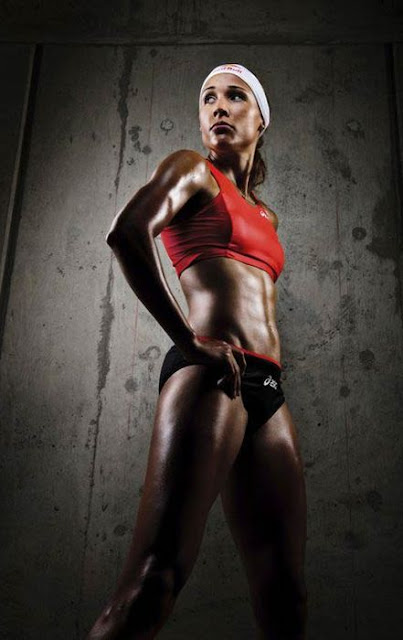"track and field and bobsled athlete, Lori ""Lolo"" Jones"