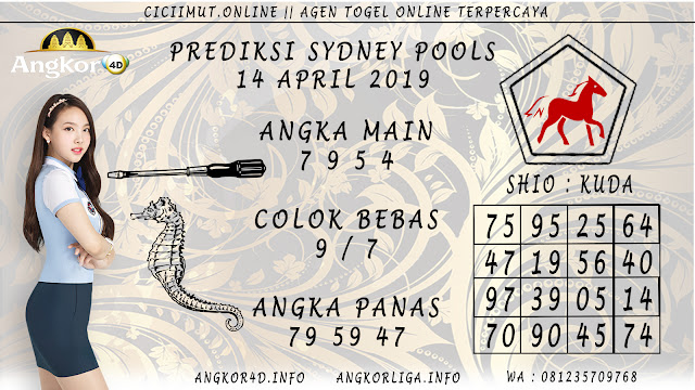 Prediksi Angka Jitu SYDNEY POOLS 14 APRIL 2019
