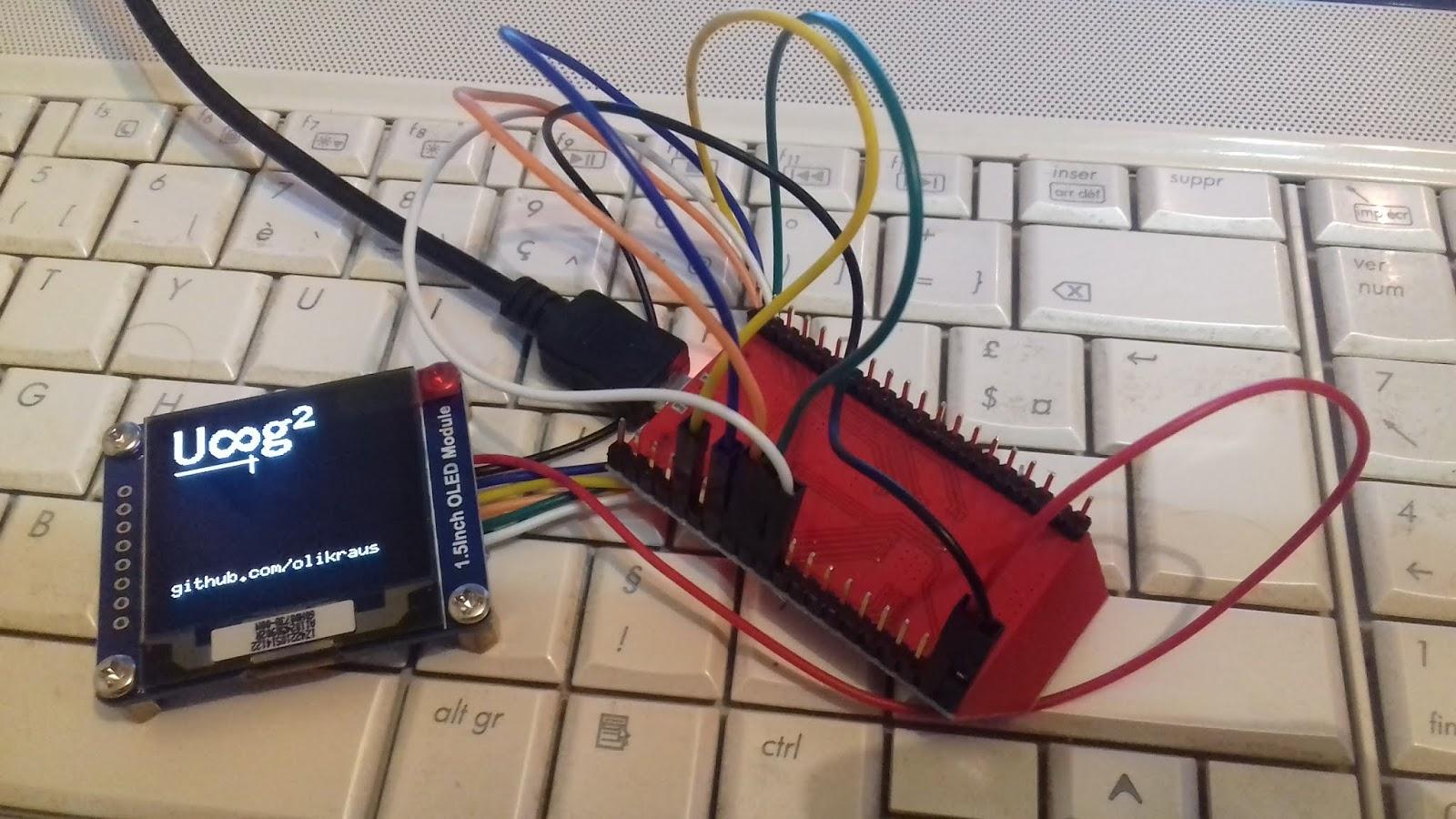 Arduino tehNiq: 128x128 1 5
