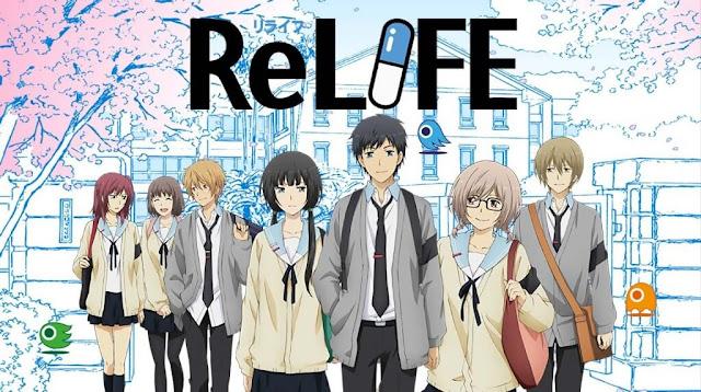 Rekomendasi Anime Yang Mirip Dengan Anime ReLIFE