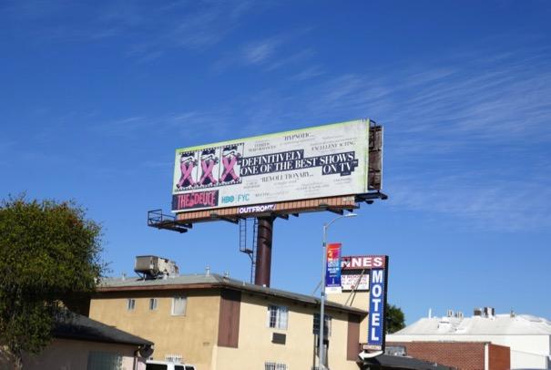 Deuce season 2 FYC billboard
