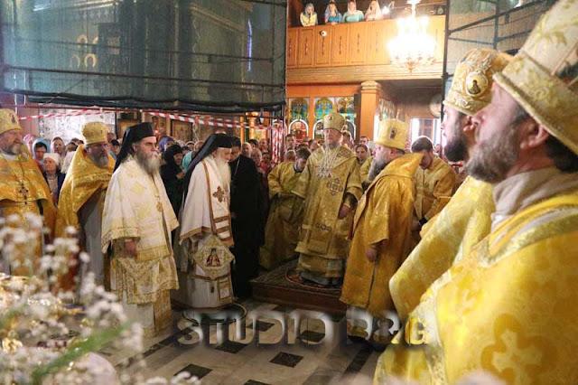 Ο Μητροπολίτης Αργολίδας Νεκτάριος συμμετείχε στους εορτασμούς για τον Άγιο Λουκά στην Κριμαία - Μαζί του  και ο Μητροπολίτης Άρτης Καλλίνικος