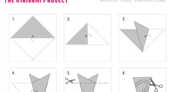 Omiyage Blogs 6 Point Folding Pattern