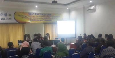 Program kemitraan dunia usaha dan industri (Dudi) bagi alumni SMK Jawa Timur.