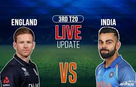 India vs England, 3rd T20, Live Cricket Score, India won