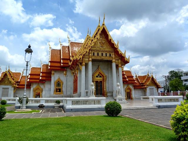 templo de mármol - visita imprescindible en Bangkok