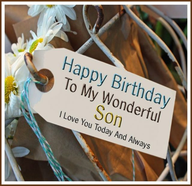 Trusted Birthday Wishes for Son with Images
