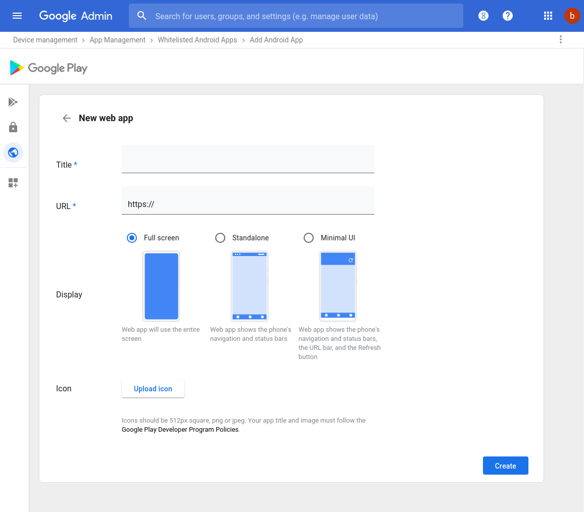 G Suite Updates Blog: Create and manage web apps through the