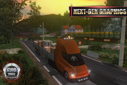 Euro Truck Evolution (Simulator) Mod(Unlimited Money) Apk