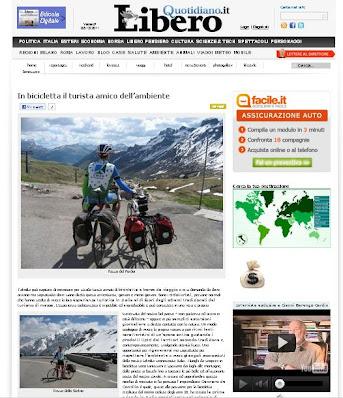cycling holidays libero newspaper