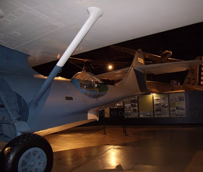 OA-10 Catalina amphibian tail and main landing gear photo