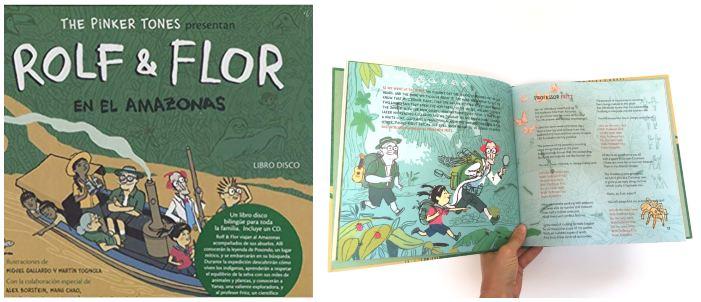 cuentos libros lecturas recomendadas verano 2018 Libro-cd rolf flor amazonas