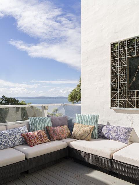Decoração rústica elegante de hotel; blog Achados de Decoração