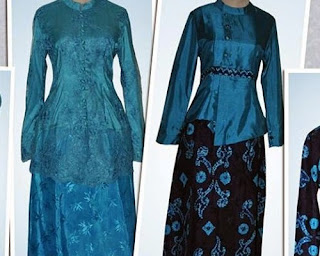 model baju sasirangan suami istri