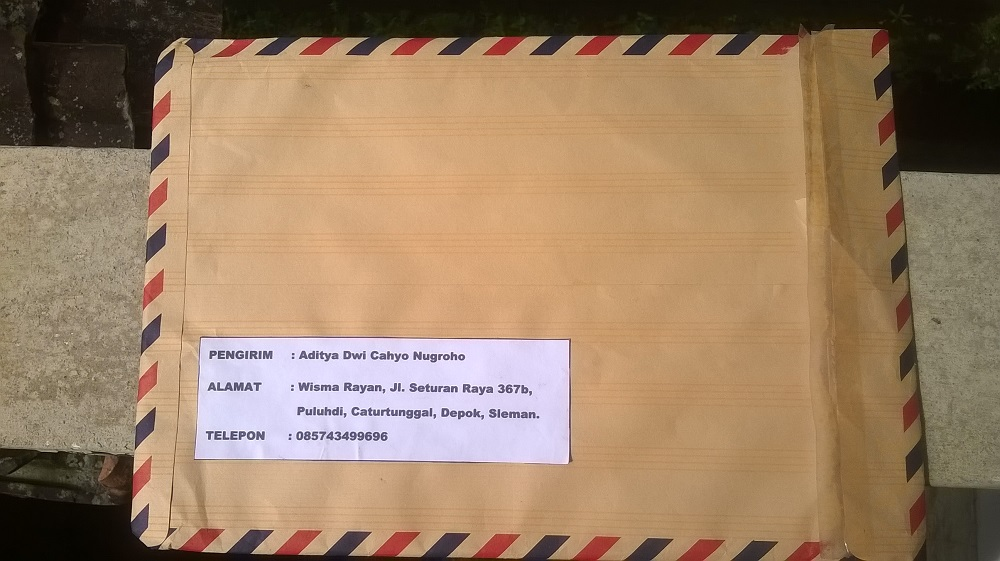 cara mengirim paket dokumen surat melalui jne aditya web