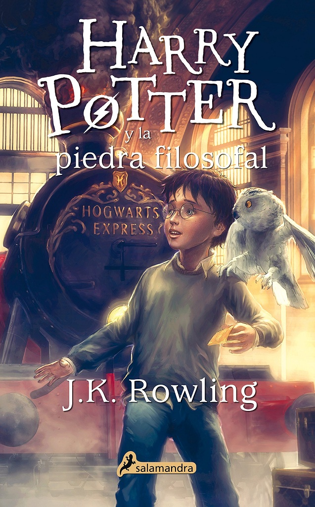 Nuevas portadas y logo para los libros de Harry Potter en