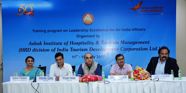 ITDC signs Pact to Strengthen Leaders of Air India in Hospitality and Service Industry