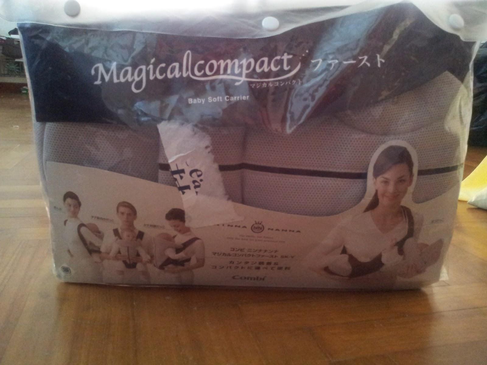 bd801742e28 Mayeesa s Preloved  Combi Ninna Nanna Magical Compact Baby Carrier