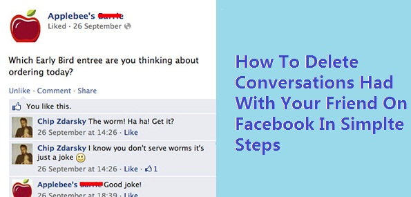 how to delete chat conversations on facebook pagetowatch