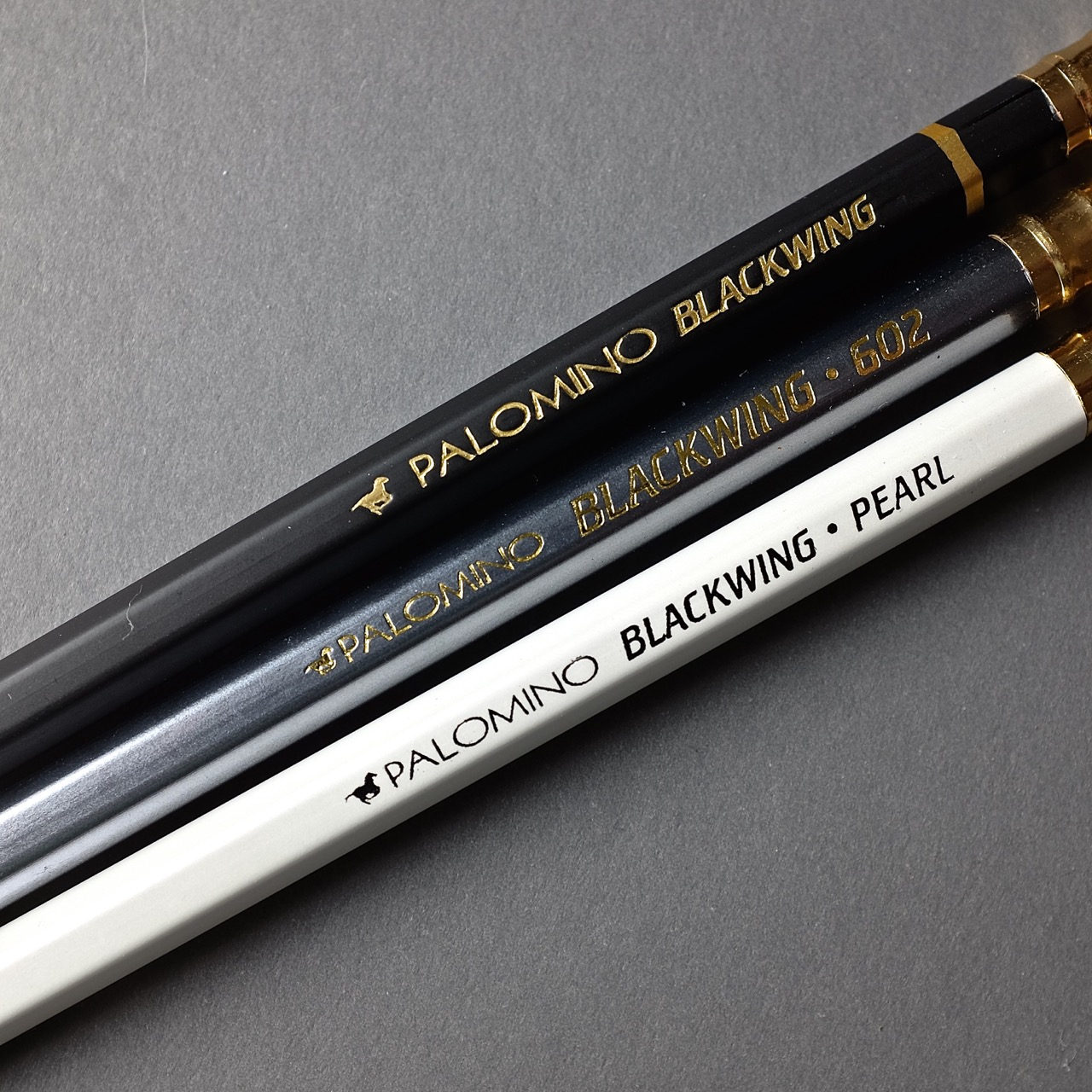 Three Palomino Pencils