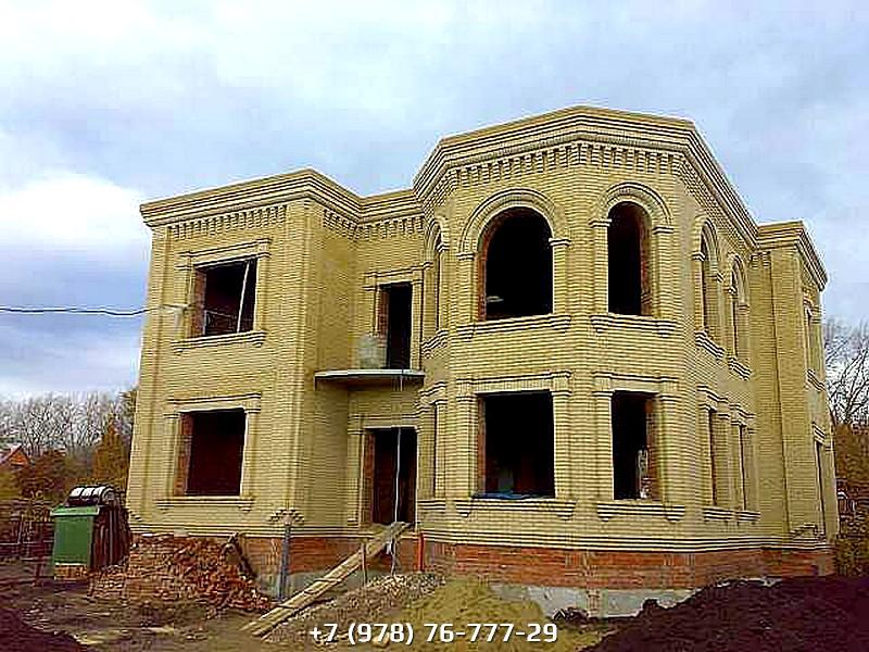 Строительство кирпичного дома под ключ цена