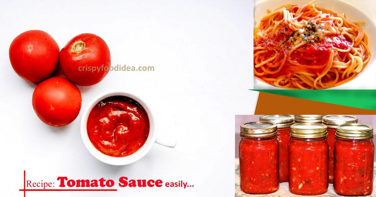 Recipe: Tomato Sauce - crispyfoodidea.com